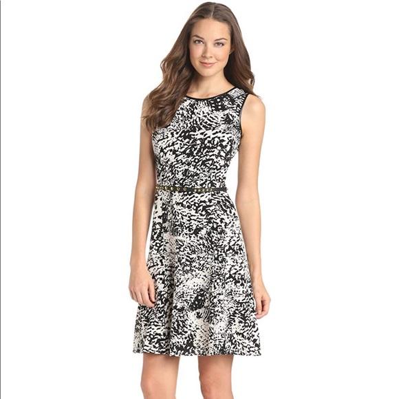 Calvin Klein Dresses & Skirts - Calvin Klein Abstract Animal Print Flare Dress 2